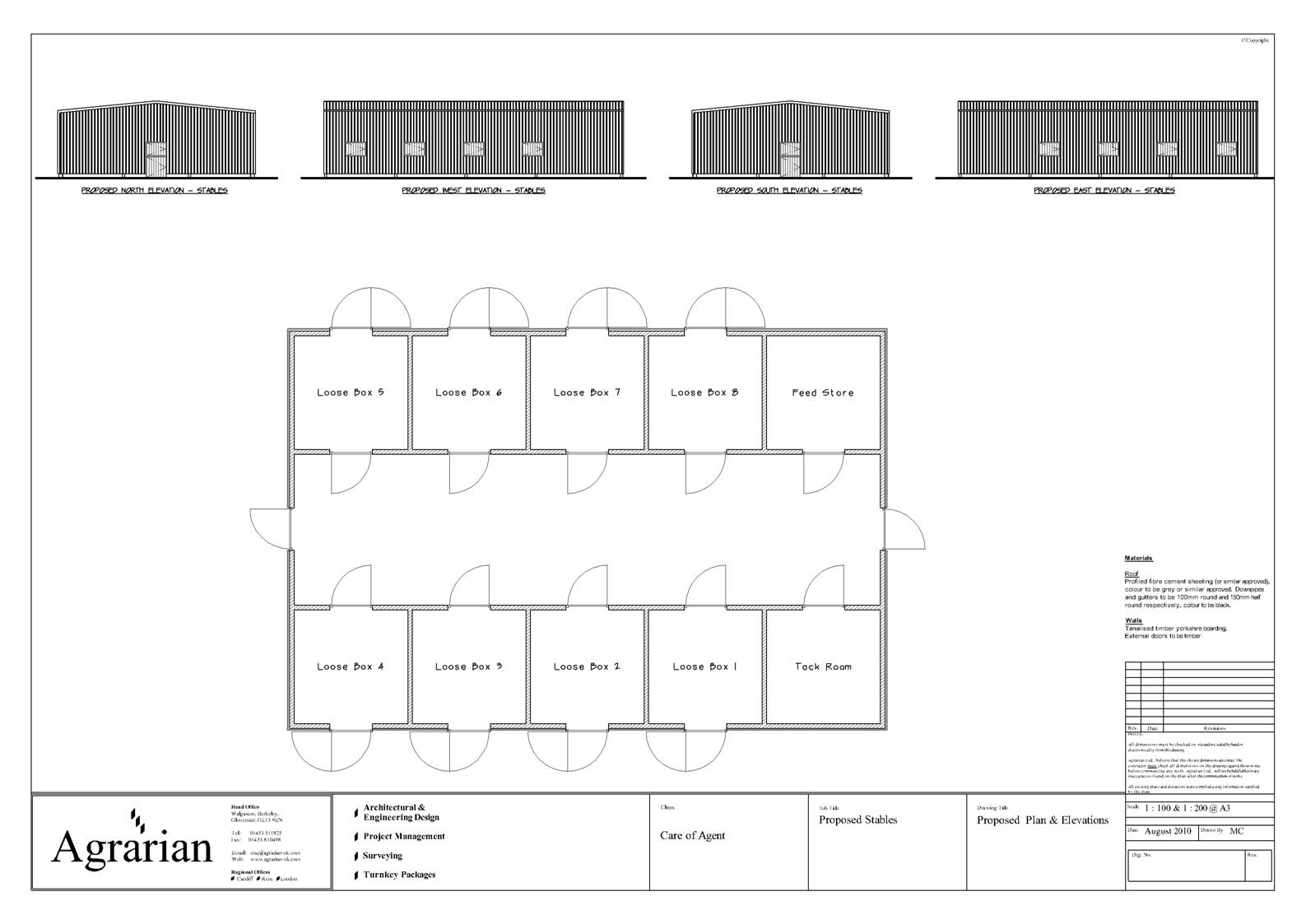 equine barn development stable plan drawing equestrian design