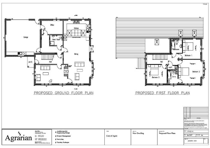 New Detached House Plans London Birmingham Guildford