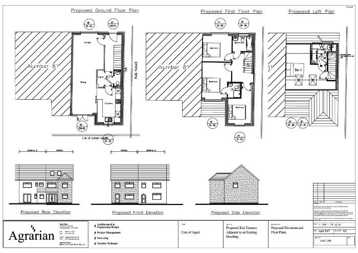 New terrace house plans london birmingham gloucester for New terrace house